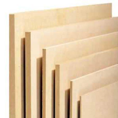 MDF sheets