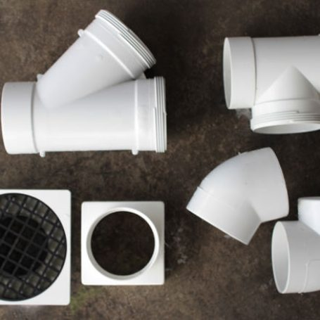 40mm, 50mm, 90mm and 100mm PVC stormwater fittings